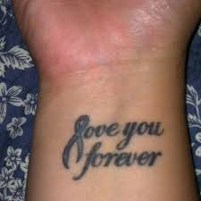 25 classy i love you wrist tattoos