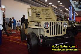slammed willys jeep musclecarszone official judge 2016 sema show las vegas