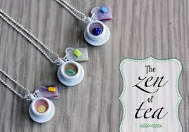 polymer clay miniature food jewelry tea polymer clay crafts for