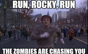Funny Zombie Memes - the internet meme and rocky too funny silver screen artists