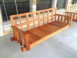 wooden porch swings with frame o mahogany swing u2013 home design