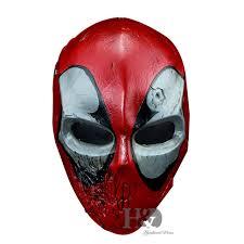 Mask Movie Halloween Costume Movie Theme Deadpool Resin Halloween Mask Party Cosplay