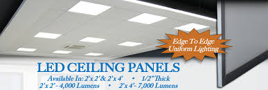 Led Ceiling Light Panels 2x2 Led Lights Are The Absolute Thinnest Ceiling Light Panels On