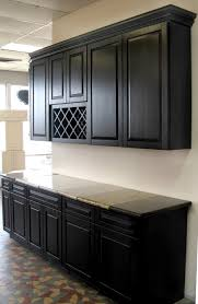 wood unfinished kitchen cabinets concrete countertops dark oak kitchen cabinets lighting flooring