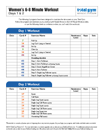 download total gym exercises total gym