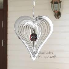 metal wind spinner home decor wind chimes bells garden decoration