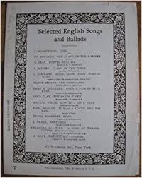 a song of thanksgiving sheet selected songs and
