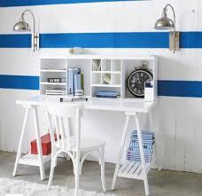 bureau blanc fille bureau blanc dans chambre fille de maison du monde