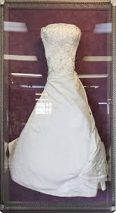 framed wedding dress wedding keepsakes