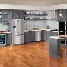 Kitchen Cabinets Refrigerator Surround by Inspirational Kitchen Cabinet Fridge Taste