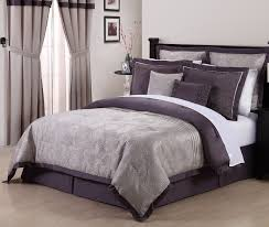Embroidered Bedding Sets Purple Bedding Sets Queen Humanefarmfunds Org