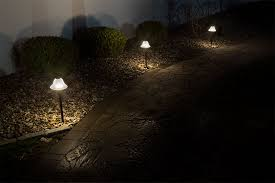 Landscape Path Lights Landscape Led Path Lights W Frosted Glass Shade 3 Watt