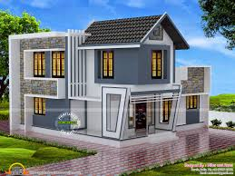 2075 square feet 4 bedroom home elevation keralahousedesigns floor