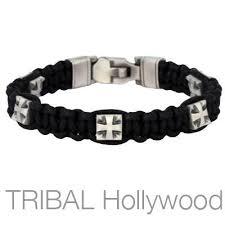 man bracelet cross images Mens bracelets tribal hollywood jpg