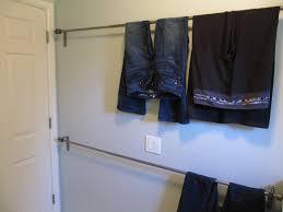 Laundry Room Clothes Rod Everyday Organizing Hangin U0027 Tough