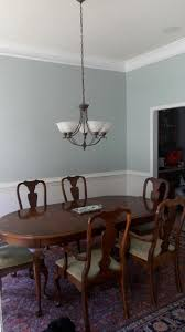 Dining Room Paint Ideas With Chair Rail New Dining Room Colors Valspar Paints Meteor Dust 24 1c On