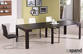 wood dining room tables and chairs tiny titan transforming kitchen table expand furniture
