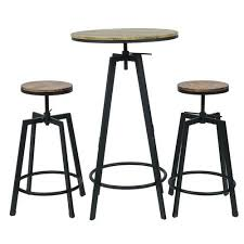 Commercial Bar Tables by Commercial Seating Products Max 3 Piece Bar Table Set Walmart Com