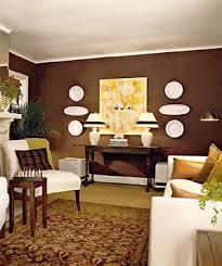brown livingroom decorating with brown real simple