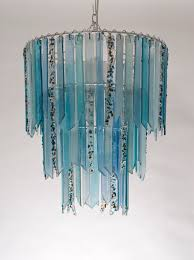 Coloured Chandelier by Brer Rabbit U2013 Lovers Lights U2013 Recycled Glass Chandeliers And Lamps