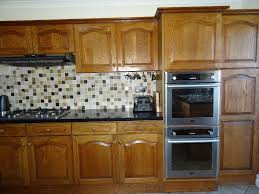 solid medium oak kitchen cabinets and doors in histon
