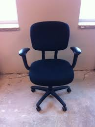 Haworth Chair Used Haworth Improv Black Chairs