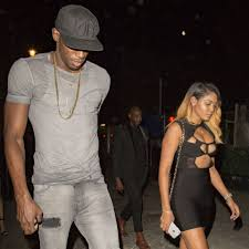 usain bolt pictured on holiday with fiancee kasi bennett as