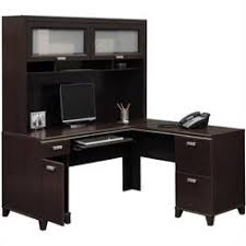 Corner Computer Desk Cherry Glamorous Cherry Wood Computer Desk 4 Corner With Hutch Decor