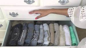 How To Organize Clothes Without A Dresser by How I Organize My Dresser Youtube