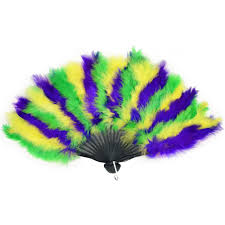 feather fan mardi gras feather fan 57221 mardigrasoutlet