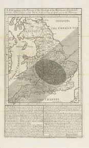 Maps Com Eighteenth Century Eclipse Maps By Halley And Whiston U2013 Teleskopos