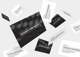 free black u0026 white business card mockup psd templates good mockups