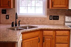 backsplash for kitchen with granite countertops and backsplash giallo ornamental granite subway