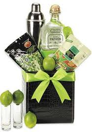 margarita gift set tequila gift basket a bottle of patrón silver tequila fresh