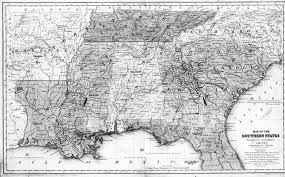 State Map Of Tennessee by Digital History