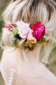 flower hair autumn orchard inspiration shoot flower hair orchards