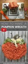 thanksgiving wreaths to make best 25 pumpkin wreath ideas on pinterest pumpkin burlap wreath