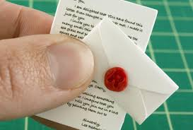 tiny small send tiny letters today the world s smallest post service
