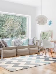Schlafzimmer Auf Englisch Beschreiben Benuta Teppich Dessert Blau 160x230 Cm Moderner Teppich Für Wohn