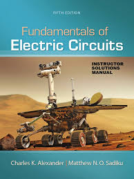 fundamentals of electric circuits 5th ed solution pdf visual