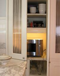Microwave Inside Cabinet 10 Best Places To Sit A Microwave Apartment Therapy