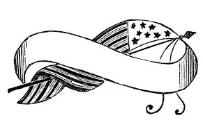 Flag Banner Clip Art Vintage Flag Banner Clipart Clip Art Library