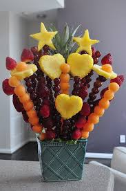 how to make a fruit basket arrangement s day fruit bouquet how to make an edible bouquet