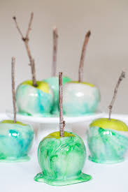 how to marble candy apples candy apples halloween parties and