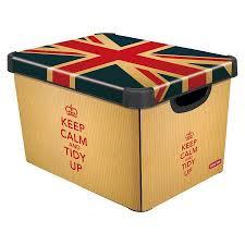 patterned storage boxes cardboard