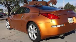 nissan 370z touring for sale nebr 2003 350z sharpest hue burnt orange nissan 350z forum