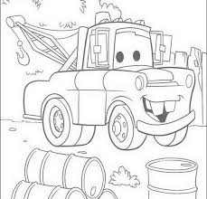 mater coloring pages coloring