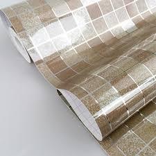 dooxoo faux tile mosaic aluminum foil self adhensive anti oil
