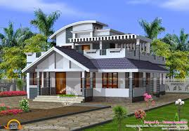 Inbuilt Rainwater Harvesting House Kerala Home Design Siddu