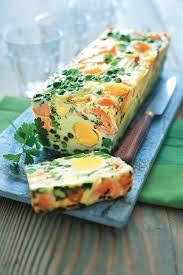 que cuisiner avec des oeufs recette terrine oeufs saumon